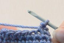Crochet Teknic - Hekltækni - Hæklteknik