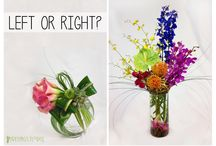 Left or Right / Which would you choose / by Freytag's Florist
