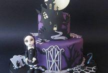 strašidelné dorty