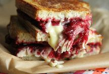 Turkey cranberry Brie