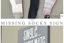 socks holder
