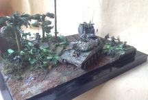 Vietnam War diorama and model / Story about vietnam war in scale