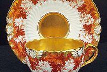 Tasse de thé antique