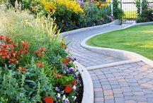 Garden Bed Edging Ideas / by Lois Christensen