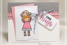 Neat and Tangled cards I {heart}
