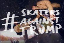 #skatersagainsttrump
