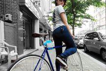 自転車 ファッション