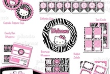 """Bebe's Stuff / room decor, accessories, and birthday party ideas / by Amy """"Mimi"""" Logan"""