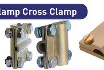 Copper Cross Clamp