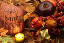 ThanksGiving / Thanksgiving Time is for Family and Friends and a time to reflect on all that we have been blessed with / by Sherry Halpern