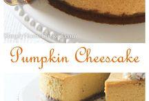Pumpkin Recipes / For those that love pumpkin!