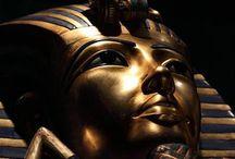 Egypte Antique / Monuments, œuvres, objets archéologiques...