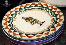 Palio di Siena / Fratelli Mari pieces of the Collection Palio di Siena are approved by the Consorzio per la Tutela del Palio di Siena.