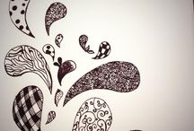 Zentangle / This art form is very near and dear to my heart.