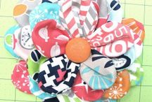 Sewing: Fabric Bows and Flowers