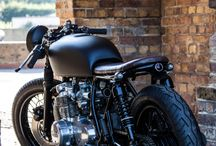 cafe racer motocycle