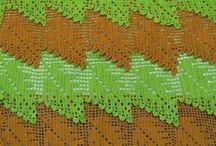 Вязание: листьями узоры и модели