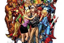 DNA COMICS / MARVELS COMICS/DC COMICS