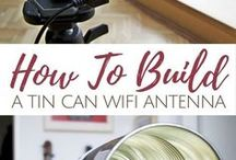 wifi antenna diy