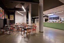 Cinema Foyer Design / by Kim Williams