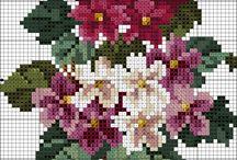 Kreuzstich (Blumen)