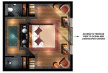 Plan/architecture intérieure
