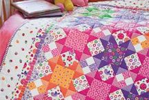 """Twin Quilt Patterns and Dorm Bed Quilt Patterns / Enjoy these quilt patterns for twin size beds and dorm beds or twin extra-long beds. These quilts fit nicely on mattresses sized 39"""" x 75"""" and 39"""" x 80""""."""