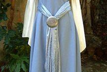 abiti medievali femminili-nobili