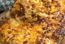 beef and macaroni bake