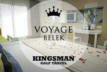 7 EXTRAORDINARY GOLF HOTEL ROOMS IN BELEK