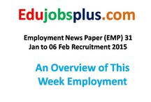 Edu Jobs Plus / Latest Information & Updates on Govt. Recruitment, Sarkari Naukri, Admission, Results, Admit Card, Answers key, State & Central Govt. Employment News (EMP), DSSSB, SSC, UPSC, CBSE etc.