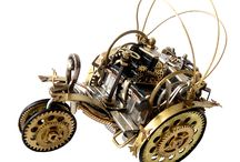Watch cars three-wheeler