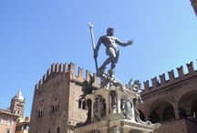 Meeting Point for walking tours in Bologna / Neptune's Fountain