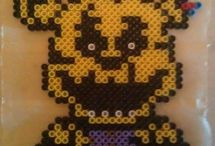 Five Nights At Freddy's  hama beads