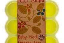 Baby Food Storage and Freezer Trays / The Tutti Bimbi Baby Food Freezer Tray
