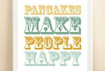 Pancakes Flapjacks of Fun / by Michelle Michalak