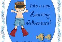 Thema zee (start schooljaar-ideeën)