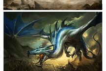 Dragons and fantastic creatures