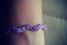 crochet bracelet / handmade crochet bracelet