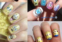 Manos, uñas.