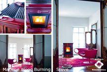 Sergio Leoni Wood Pellet Burning Stoves / Sergio Leoni Wood Pellet Burning Stoves