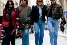 Street fashion. Уличная мода. / Уличная мода (Париж, Лондон, Нью-Йорк, Москва, Амстердам, Копенгаген. Отчеты с недель моды.
