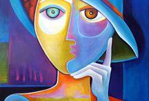 Pinturas abstratas