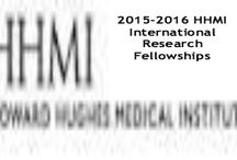 2015-2016 HHMI International Research Fellowships & Other Top Scholarships / 2015-2016 HHMI International Research Fellowships in USA , and applications are submitted till November 18, 2014. The Howard Hughes Medical Institute (HHMI) offers international student research fellowships to support the research training of predoctoral students in the  biology, chemistry, physics, math, computer science, engineering and plant biology - See more at: http://www.scholarshipsbar.com/2015-2016-hhmi-international-research-fellowships.html#sthash.TmDYRVlE.dpuf