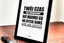 Ramki z cytatami / Motywacyjne #cytaty w ramkach Zapraszam do sklepu PanCytat.pl