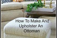 upholster ottomans