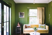 Color Spotlight: Green / Green rooms and paint project ideas