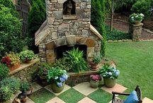 Bahçe Balkon Dekorasyonu