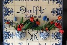Beautiful Dutch Delfts blue
