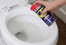 Cleaning with WD 40